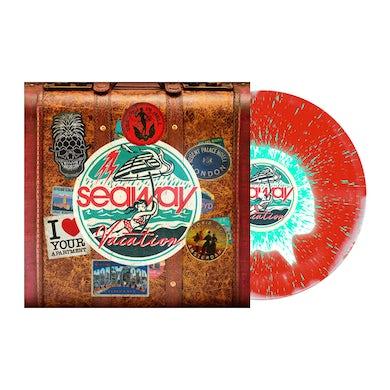 """SEAWAY Vacation 12"""" Vinyl (White/Red w/ Double Mint Heavy Splatter)"""