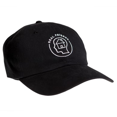 Real Friends House Head Dad Cap (Black)