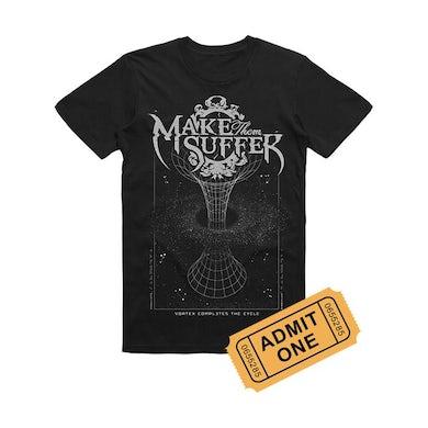 Make Them Suffer  - Ticket / T-Shirt Bundle