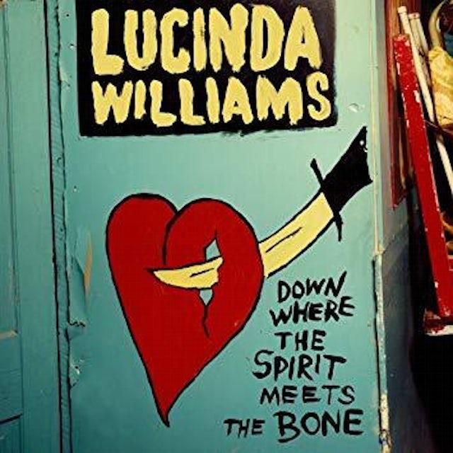 Lucinda Williams Down Where The Spirit Meets The Bone - CD