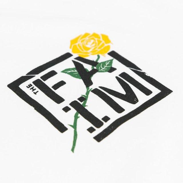 The FAIM Rose Tee (White)