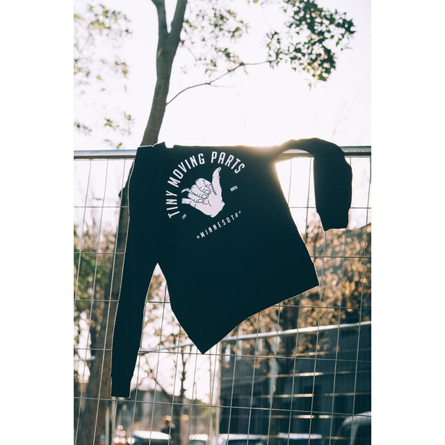 TINY MOVING PARTS Hand Hoodie (Black)