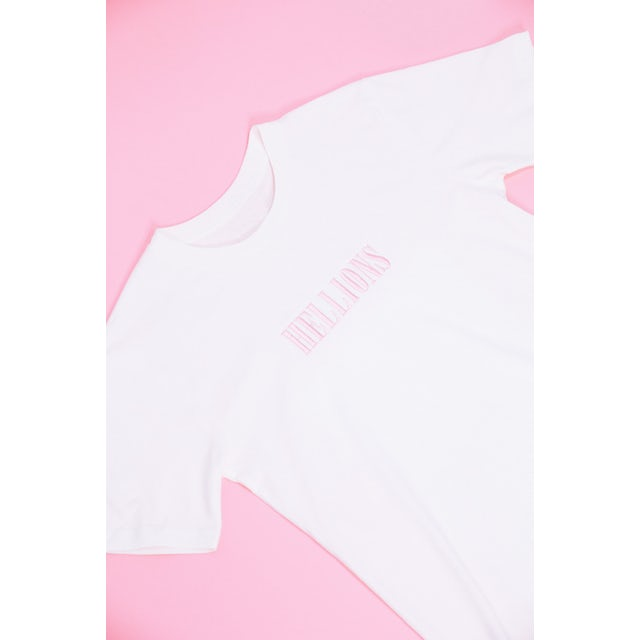 Hellions Embroidered Tee (Natural)
