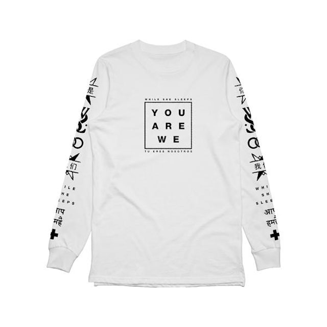 While She Sleeps You Are We Long Sleeve (White)
