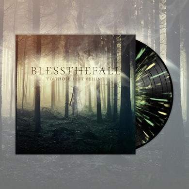 "Blessthefall To Those Left Behind (12"" Black w/ Double Mint + Yellow Splatter Vinyl LP)"
