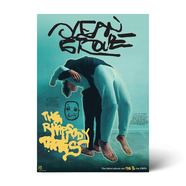 Ocean Grove The Rhapsody Tapes (A2 Poster)