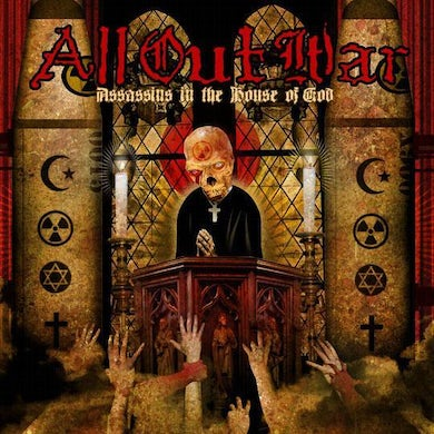 All Out War Assassins In The House Of God (CD)