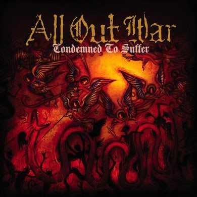 All Out War Condemned To Suffer (CD)
