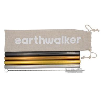 Earthwalker Tribe Smoothie Straw Set
