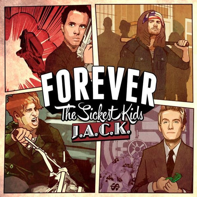 Forever The Sickest Kids J.A.C.K. (CD)