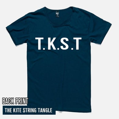 The Kite String Tangle TKST (Mens Navy Tee)