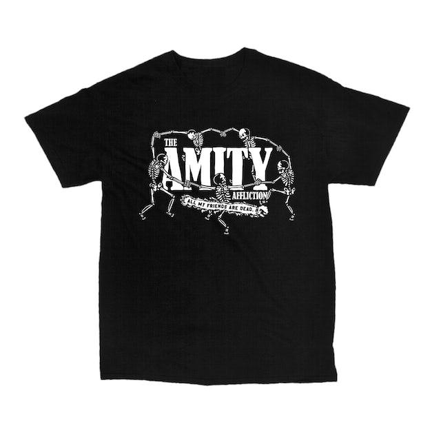 The Amity Affliction AMFAD Skeleton Dance Tee (Black)
