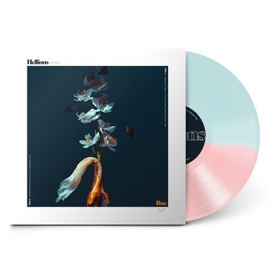 """Hellions Rue 12"""" Vinyl (Half Pink/Half Blue)"""