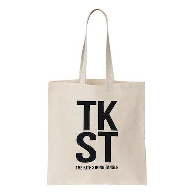 The Kite String Tangle TKST Tote Bag (Cream)