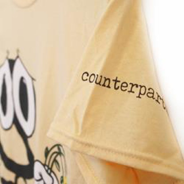 Counterparts Sad Face Tee (Yellow)