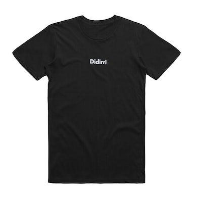 Didirri Emboidered Logo Tee (Black)