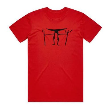Shihad Stickman Tee (Red)