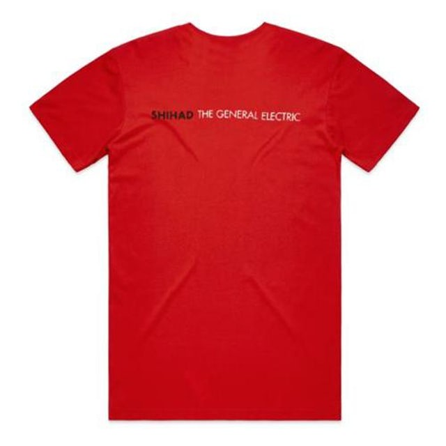 Shihad Bolt Tee (Red)