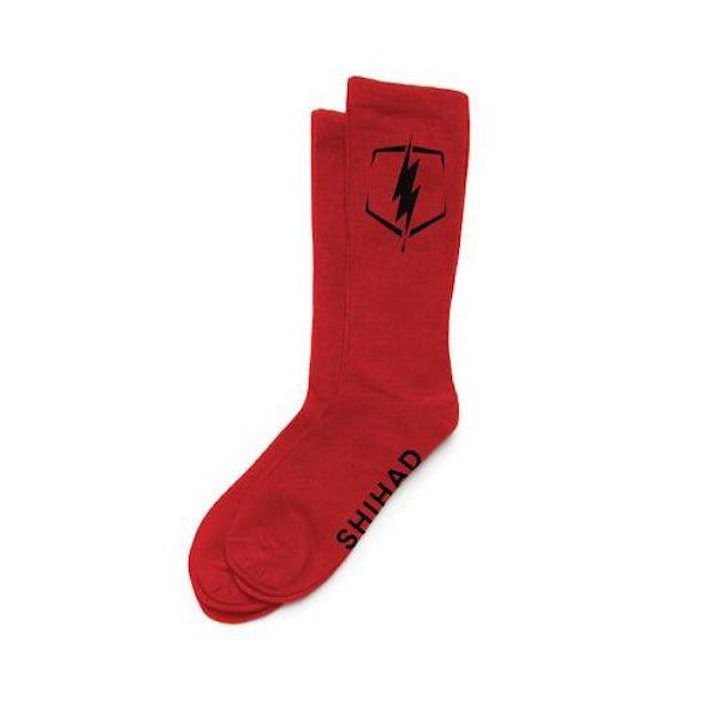 Shihad Bolt Socks (Red)