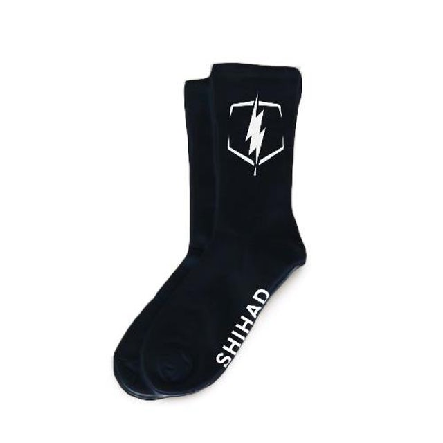 Shihad Bolt Socks (Black)