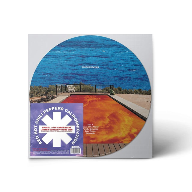"""Red Hot Chili Peppers Californication 12"""" Vinyl (Limited Edition Picture Disc)"""