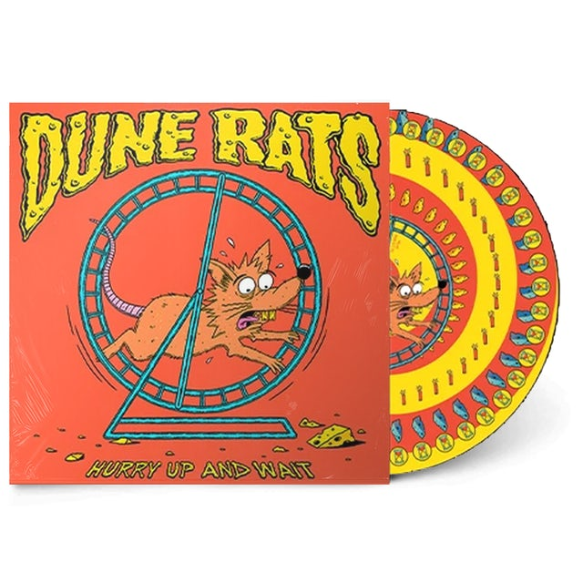 "Dune Rats Hurry Up And Wait 12"" Vinyl (Limited Edition Picture Disc)"