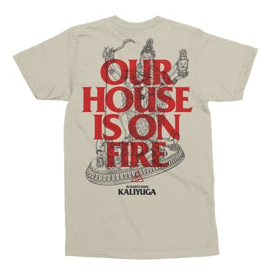 In Hearts Wake Our House Is On Fire T-Shirt (Natural)