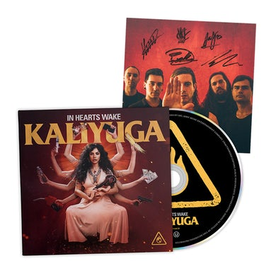 In Hearts Wake Kaliyuga CD + Autographed Postcard