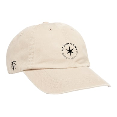 FIT FOR A KING Star Dad Hat (Tan) // PREORDER