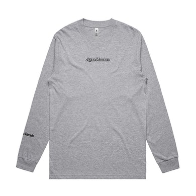Agnes Manners Origami Cranes Longsleeve (Grey) // PREORDER