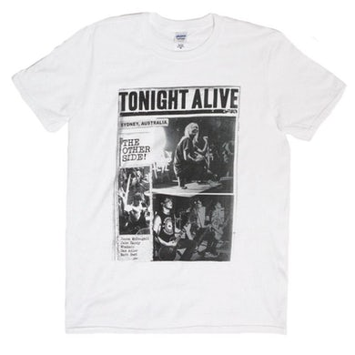 Tonight Alive The Other Side Photo Tee (White)