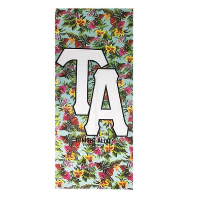 Tonight Alive Floral Beach Towel