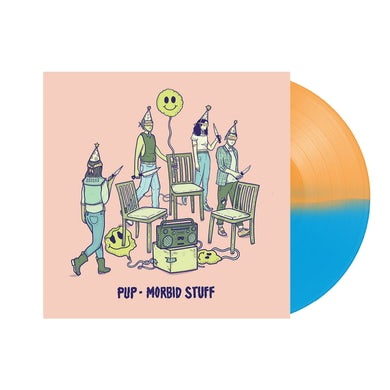 "Pup Morbid Stuff 12"" Vinyl (Limited Half Orange/Half Blue Reissue)"