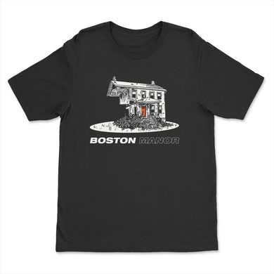 Boston Manor Vacancy Tee (Black)