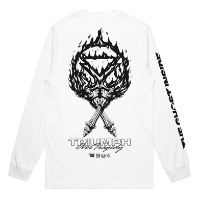 The Ghost Inside Triumph Longsleeve (White)