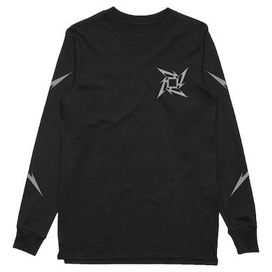 Metallica Ninja Star Longsleeve (Black w/ Metallic Print)