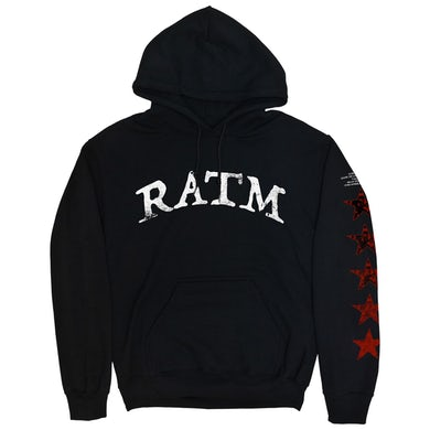 Rage Against The Machine Battle Star Hoodie (Black)