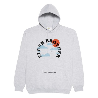 Elder Brother I Won't Fade On You Hoodie (Grey Marle)