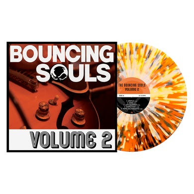 "The Bouncing Souls Volume 2 12"" Vinyl (Orange Crush w/ Heavy Black & White Splatter)"