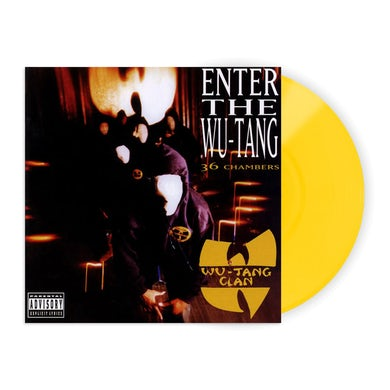 """Enter The Wu-Tang Clan: 36 Chambers 12"""" Vinyl (Limited Edition 180gm Yellow)"""