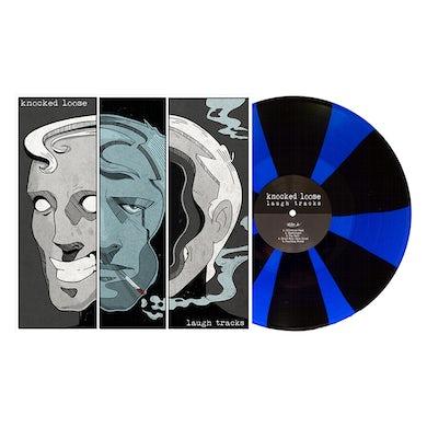 "Laugh Tracks 12"" Vinyl (Royal Blue & Black Pinwheel)"