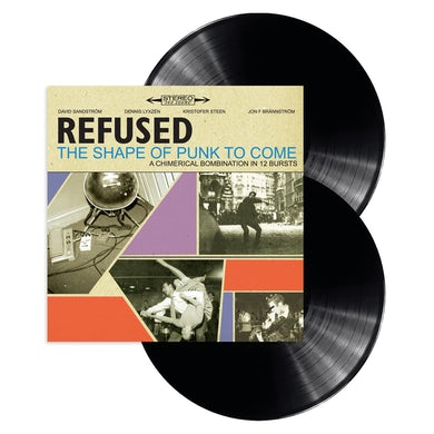Refused The Shape Of Punk To Come 2LP Vinyl (Deluxe Version)