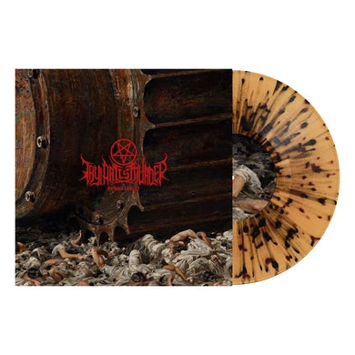 "Thy Art Is Murder Human Target 12"" Vinyl (Beer w/ Heavy Black Splatter)"