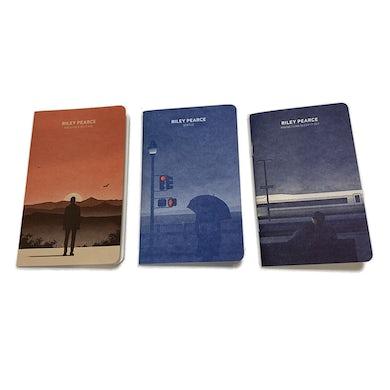 Letterpress Printed Pocket Notebooks Series 1