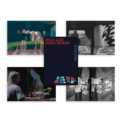 Ocean Alley Lonely Diamond - Live In Studio Print Pack