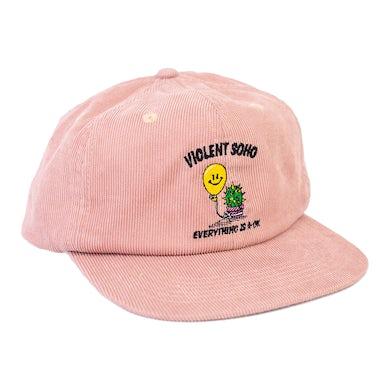 Cactus Cord Cap (Pink)