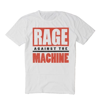 Rage Against The Machine 60's Election Tee (White Vintage Wash)