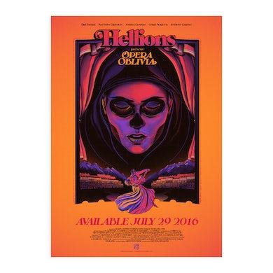 Hellions Opera Oblivia A2 Poster