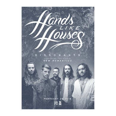 Hands Like Houses Dissonants A2 Poster