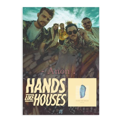 Hands Like Houses Anon. A2 Poster